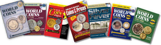 Coin collecting catalogs